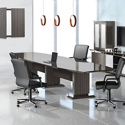Modern Designer Conference Room Table Lacquered Textured 12 8 10 14 16 Boardroom
