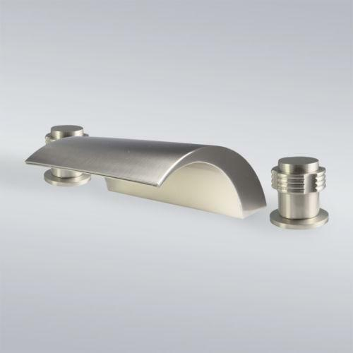 Waterfall Tub Faucet Brushed Nickel Ebay