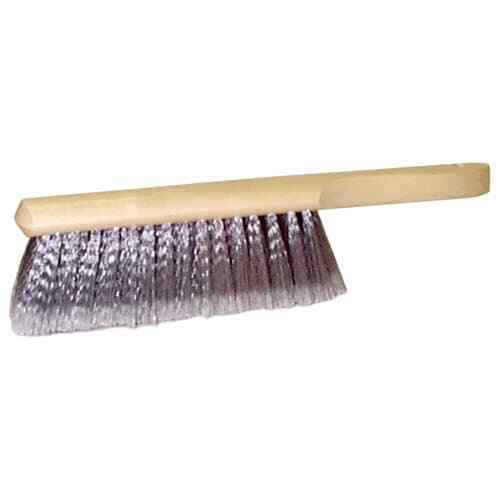 """Weiler 44354 8"""" Counter Duster, Flagged Silver-Grey Fill, Fine Brushing"""