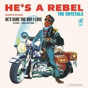 Crystals Hes A Rebel vinyl LP NEW sealed