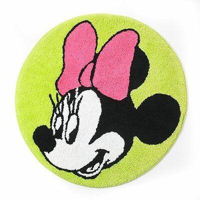 Disney Minnie Mouse Neon Bath Rug - Minnie Mouse Carpet