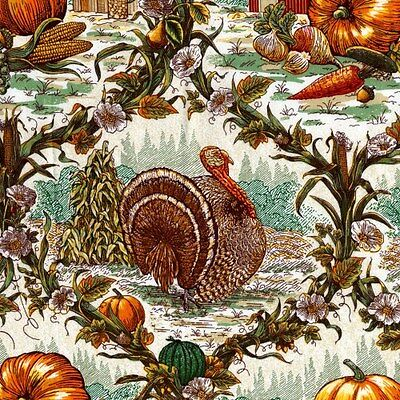 - HARVEST/FALL PRINTS FABRIC BY THE BOLT 15 YARDS LARGE VARIETY AVAILABLE