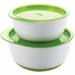 Brand New Oxo Tot Small and Large Bowl Set (Green)