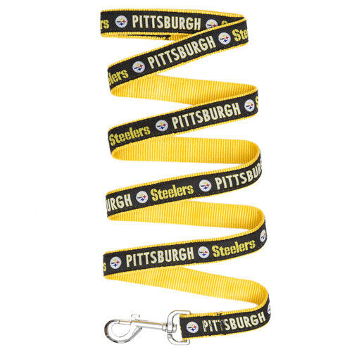 Pittsburgh Steelers Dog Leash SMALL Size S NFL Football Pet