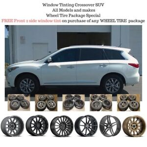 Window Tinting OPEN 7 DAYS Crossover Truck SUV SALE