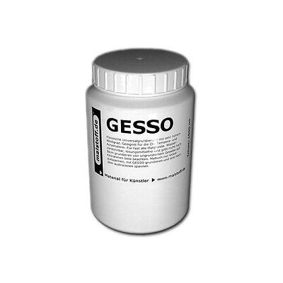 1 Liter GESSO Grundierung für Maltuch Leinwand Canvas