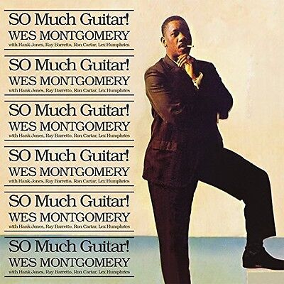 Wes Montgomery   So Much Guitar  New Cd  Uk   Import