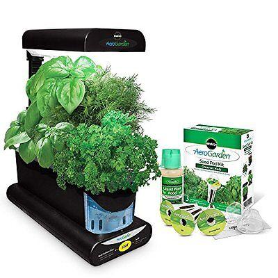 Miracle-Gro AEROGARDEN Sprout, 3-Pod INDOOR GARDEN +Gourmet ...