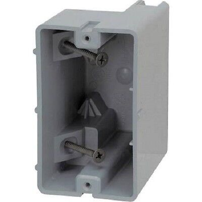 *NEW* Smart Box SB1G Switch/Outlet Box, 1-Gang, 3-1/4