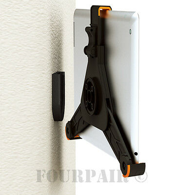 Tablet Wall Mount Holder Bracket Dock Base for Galaxy Tab iPad 2/3/4/Air/Pro