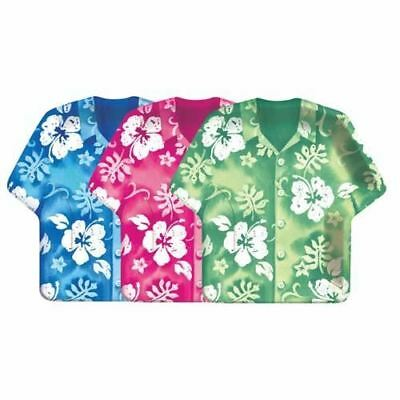 Tropical Hibiscus Shirt Paper Plates 9