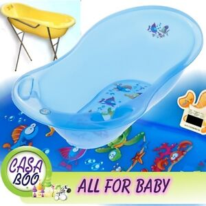 aqua lux large baby bath tub with stand thermometer 102 cm great price. Black Bedroom Furniture Sets. Home Design Ideas