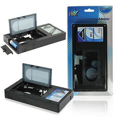 VHS-C Adapter Kassette - für VHS C / S-VHS-C Camcorder Bänder im Videorekorder