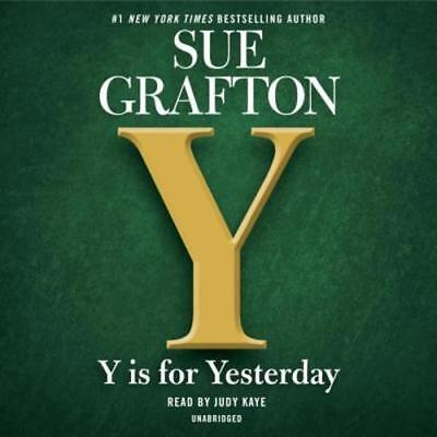 Y Is For Yesterday By Sue Grafton  Used
