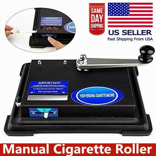 Cigarette_Rolling Machine Manual Operation Roller Maker Tobacco Injector Machine