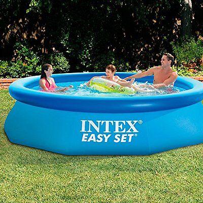 "10'x30"" Above Ground Inflatable Swimming Pool Vinyl Garden Backyard Kids Play HQ"