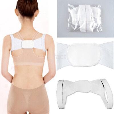 New Women's Adjustable Chest Belt Posture Shoulder Corrector Back Brace Band US