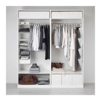 Large Wardrobe and 2 Beds