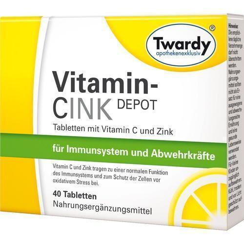 VITAMIN CINK Depot Tabletten 40 St