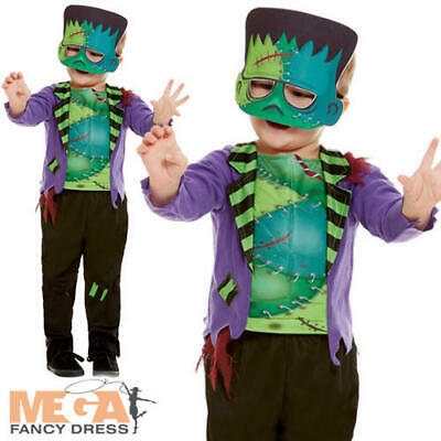 Monster Boys Fancy Dress Frankenstein Zombie Kids Toddlers Halloween Costume ](Toddler Zombie Costumes)