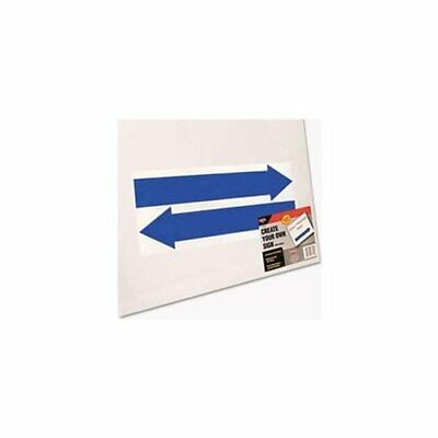 Cosco Custom 15x19 Directional Sign Kit - 19 Width X 15 Height - Plastic -