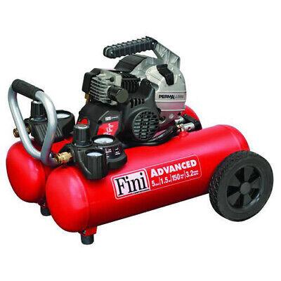 Fini Advanced Permalube 5-gallon 150 Psi Wheeled Portable Air Compressor