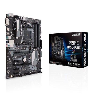 Motherboard Plus Cpu (ASUS PRIME B450-PLUS Motherboard CPU i3 i5 i7 LGA1151 Intel DDR4 DVI HDMI USB3.1)
