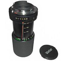 Lentille Vivitar P/K 70-210mm  F/4.5 MC Macro Focussing Zoom