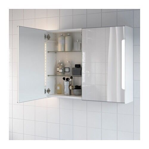 Bathroom Mirrors Gumtree ikea storjorm bathroom mirror cabinet with lights | in brighton