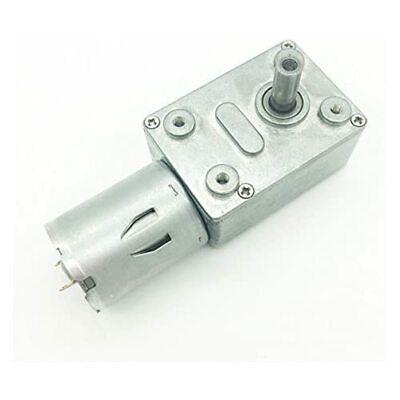 Bringsmart Jgy-370 12v 10rpm Dc Worm Gear Motor 12 Volt High Torque Engine Mini