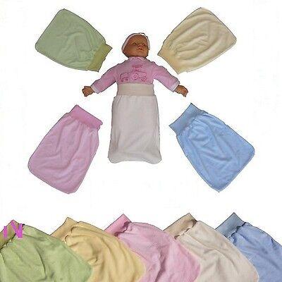 Strampelsack Baby Pucksack NEU 100% Frottee Baumwolle