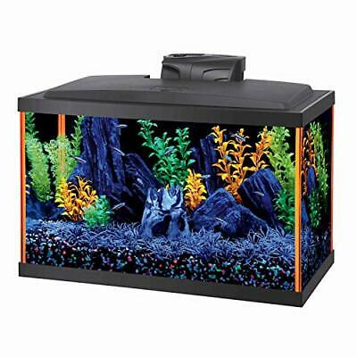 Aqueon LED Fish Aquarium Starter Kit, 10 gallon