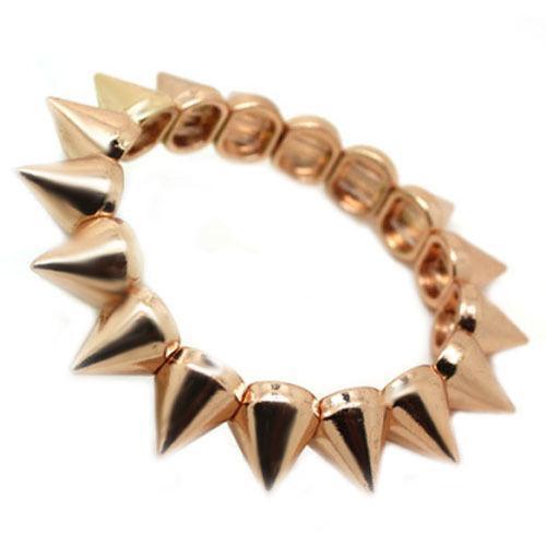 Rose Gold Spike Bracelet Ebay