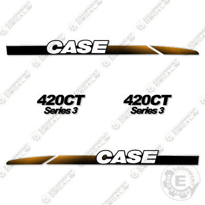Case 420ct Decal Kit Skid Steer Loader Replacement Stickers