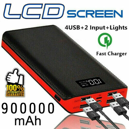 Lifeform Core Phone Charger 8400mah Portable Usb External Power Bank Battery Red For Sale Online Ebay