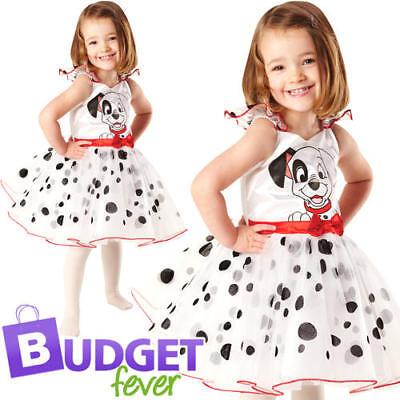 101 Dalmation Girls Fancy Dress Disney Dog Puppy Book Day Kids Childrens Costume - 101 Dalmation Costume