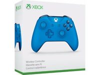 xbox one wirless controller blue