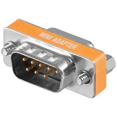 Modem-buchse (Null Modem Adapter 9 pol Stecker Buchse D-Sub Stecker 8 pol zu Buchse 9 pol)