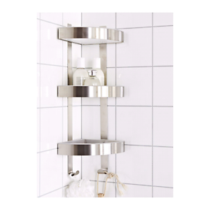 Corner Shelf - Ikea Grundtal - Stainless steel Rosewater Port Adelaide Area Preview
