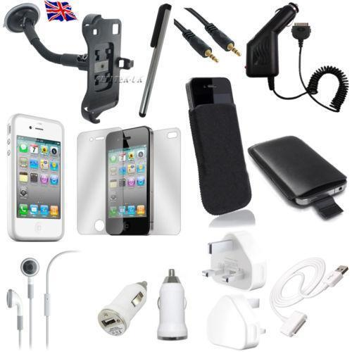 iphone 4s accessories kit ebay. Black Bedroom Furniture Sets. Home Design Ideas