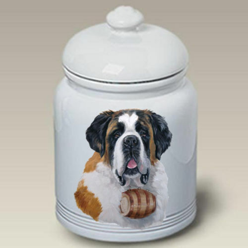 Saint Bernard Ceramic Treat Jar LP 45058
