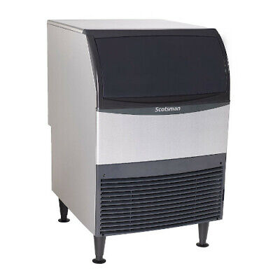 Scotsman Uc2024sa-1 Undercounter Ice Maker W Bin Small Cube Air Cooled 227 Lbs