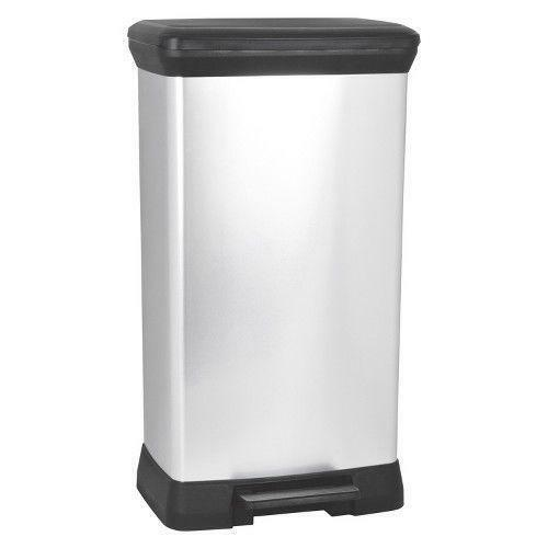 Target Kitchen Trash Cans: Chrome Trash Can