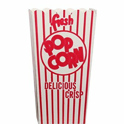 New Snappy Popcorn 44e Open-top Popcorn Box 100case Free2dayship Taxfree
