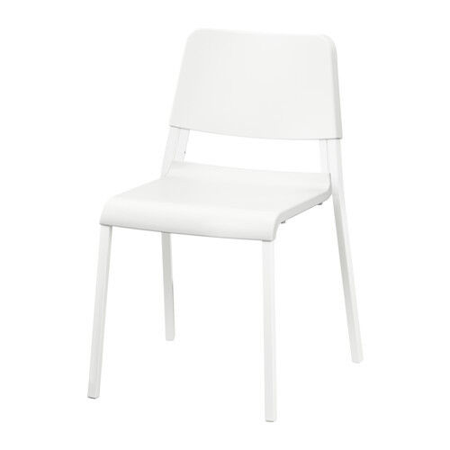 Like - New White Chair For Sale -