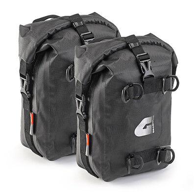 Wasserdichte GIVI T513 Seitentaschen / Sturzbügeltaschen Paar, 2 x 5 Liter