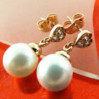 Gold Filled Pearl Handcrafted Earrings