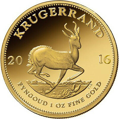 Купить ON SALE! 1 oz South African Gold Krugerrand Coin (Varied Year)
