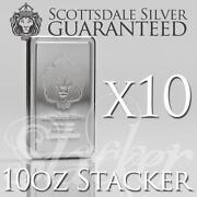 10 oz Silver Bar Scottsdale