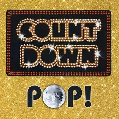 New: COUNTDOWN POP! - Major Artists CD, 43 Songs, Best Selling, Pop